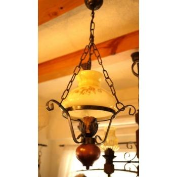 歐洲鄉村古董燈角落燈2