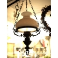 歐洲鄉村古董燈角落燈3