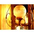 歐洲鄉村古董燈角落燈4