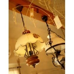 法國鄉村古董大花朵吊燈