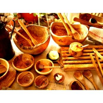 義大利橄欖木料理沙拉碗