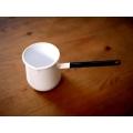 日本製琺瑯單柄牛奶醬汁鍋