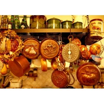 德國古董紅銅大烤模