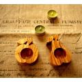 義大利橄欖木蘋果梨子燭台