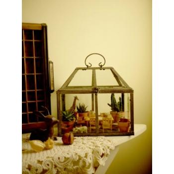 法國Junk風玻璃屋溫室花房(小)