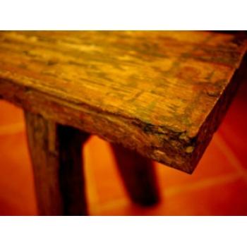 印尼仿舊實木長椅凳