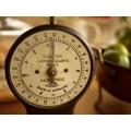 英國SALTER1920年代no.11 琺瑯面古董秤