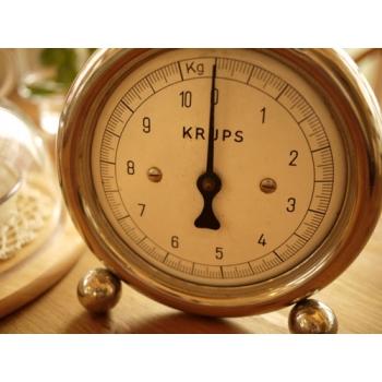 德國KRUPS1920年代廚房古董秤