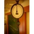 德國1920年代琺瑯面古董吊秤