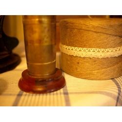 英國古董銅製存錢郵筒